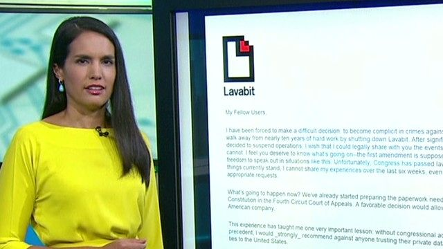 News video: What happened to Lavabit?